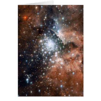 NASA - Full Hubble ACS Image of NGC3603 Card