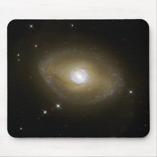 NASA - Galaxy NGC6782 in Ultraviolet Light Mouse Pad