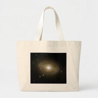 NASA - Galaxy NGC6782 in Ultraviolet Light Jumbo Tote Bag
