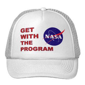 NASA Get With The Program Cap