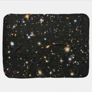 NASA Hubble Ultra Deep Field Galaxies Baby Blanket