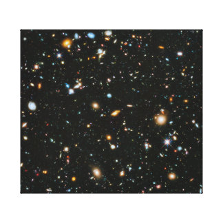 NASA Hubble Ultra Deep Field Galaxies Canvas Print