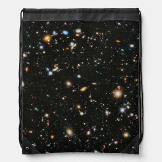 NASA Hubble Ultra Deep Field Galaxies Drawstring Bag