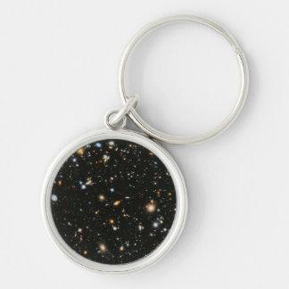 NASA Hubble Ultra Deep Field Galaxies Key Ring