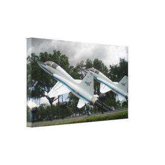 NASA Jets Gallery Wrap Canvas