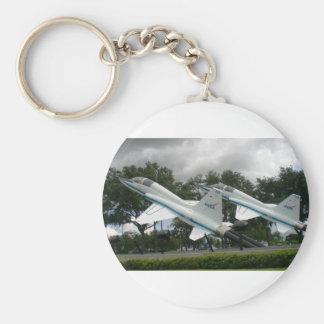 NASA Jets Basic Round Button Keychain