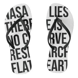 NASA Lies Flip Flops
