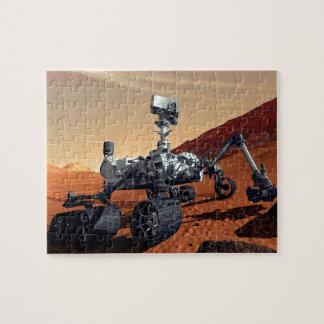 NASA Mars Curiosity Rover Artist Concept Jigsaw Puzzle