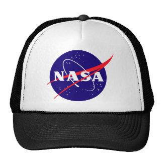 NASA Meatball Logo Mesh Hats