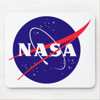 NASA Meatball Logo Mouse Mat