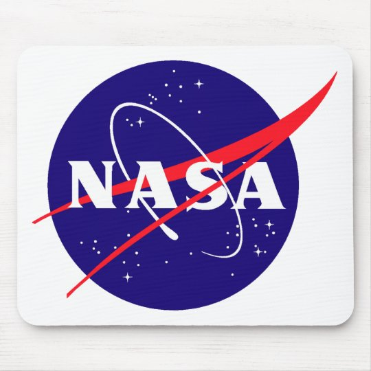 NASA Meatball Logo Mouse Mat