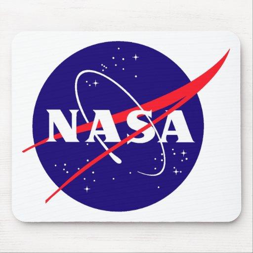 NASA Meatball Logo Mouse Pads