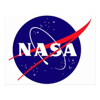 NASA Meatball Logo Post Card