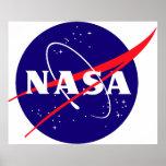 NASA Meatball Logo Poster