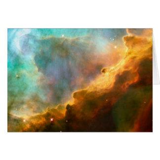 NASA - Omega/Swan Nebula (M17) Card