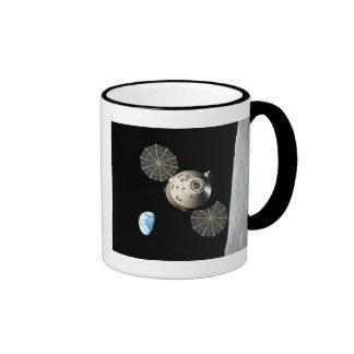 NASA Orion in Lunar Orbit Ringer Mug