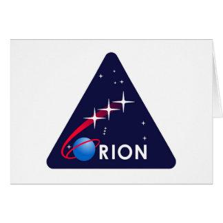 NASA Orion Logo Greeting Card
