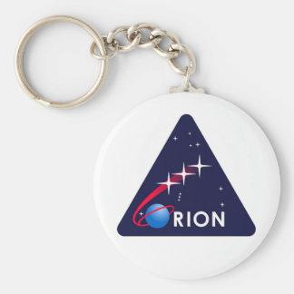 NASA Orion Logo Basic Round Button Key Ring