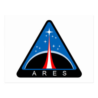 NASA Project Ares Logo   Postcards