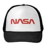NASA Red Snake Logo LIGHT Hats