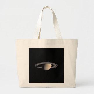 Nasa - Saturn Tote Bags