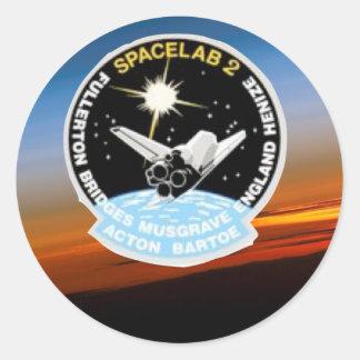 Nasa SkyLab Classic Round Sticker