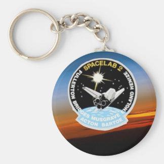 Nasa SkyLab Basic Round Button Key Ring