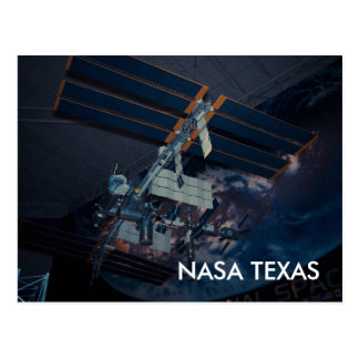 Nasa Space Center Texas Postcard