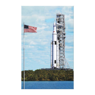 NASA Space Launch System Gallery Wrapped Canvas