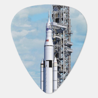 NASA Space Launch System Guitar Pick