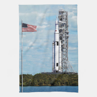 NASA Space Launch System Kitchen Towel