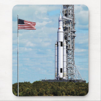 NASA Space Launch System Mouse Pad