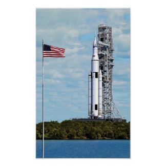 NASA Space Launch System Poster