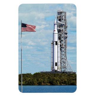 NASA Space Launch System Rectangular Photo Magnet