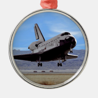 NASA Space Shuttle Atlantis Landing Edwards AFB Christmas Ornament