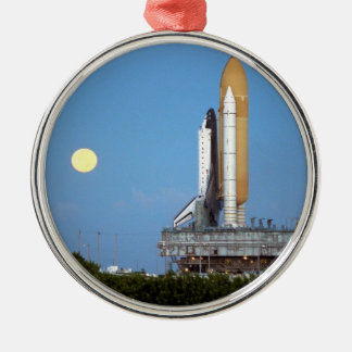 NASA Space Shuttle Atlantis STS-86 Launch Rollout Christmas Ornament
