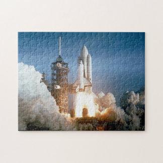 NASA Space Shuttle Columbia launch Jigsaw Puzzle