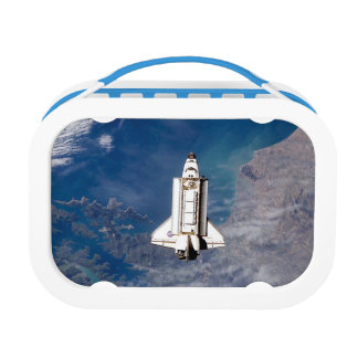 NASA Space Shuttle Endeavour STS-113 Earth Orbit Lunch Box