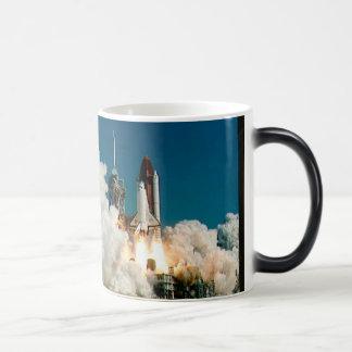 NASA Space Shuttle launch, Rocket Mug