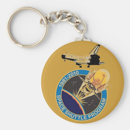 NASA Space Shuttle Program Keychains