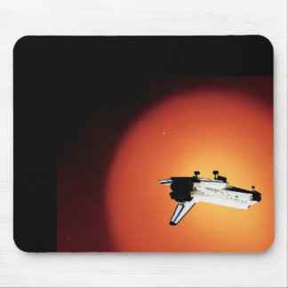 Nasa Space Shuttle Sun Mouse Pad