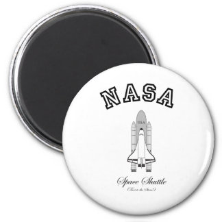 NASA Space Shuttle: Taxi to the Stars! 6 Cm Round Magnet