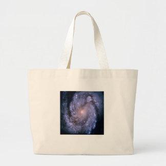 NASA - Spiral Galaxy M100 Jumbo Tote Bag