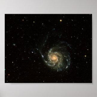 Nasa - Spiral Galaxy M101 Portfolio Poster