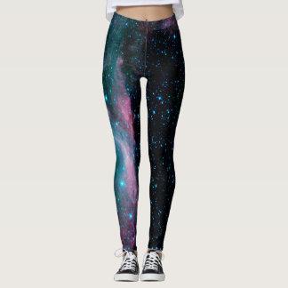 NASA Star Field and Nebula Leggings
