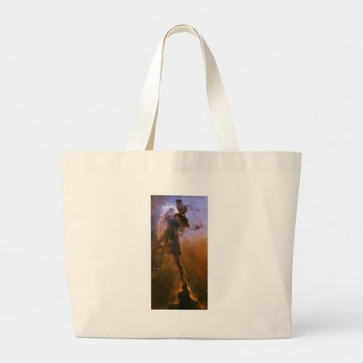 NASA - Stellar Spire in the Eagle Nebula Canvas Bags