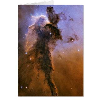 NASA - Stellar Spire in the Eagle Nebula Greeting Card