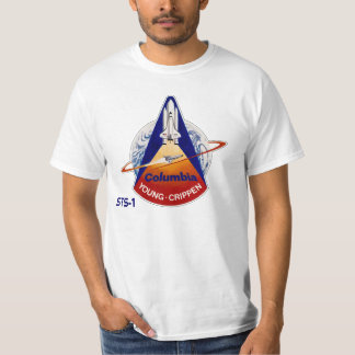 NASA STS-1 SPACE SHUTTLE T-Shirt