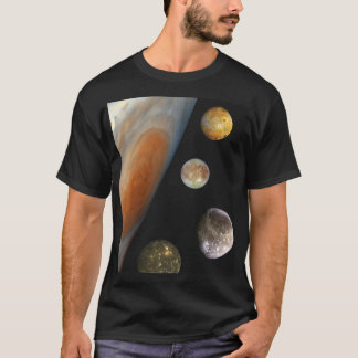 NASA / The Jovian System. T-Shirt