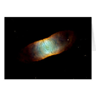 NASA - The Retina Nebula - Dying Star IC4406 Greeting Card